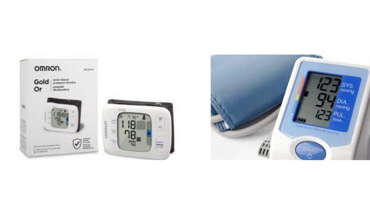 Portable Blood Pressure Monitor
