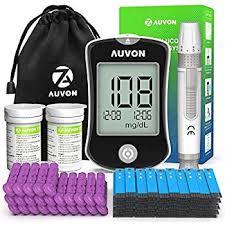 AUVON DS-W Blood Sugar Kit at Amazon