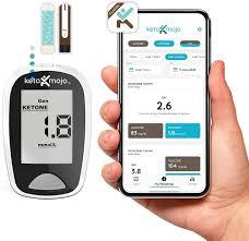 KETO-MOJO Blood Ketone and Glucose Testing Kit at Amazon