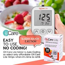 Oh'Care Lite Blood Sugar Test Kit at Amazon