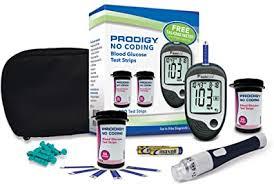 Prodigy Glucose Monitoring Kit at Amazon