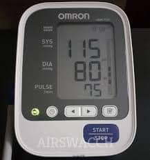 how to calibrate blood pressure monitor omron